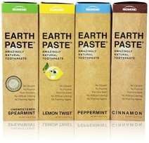 Non-Toxic Holiday Gift Ideas - Redmond Earthpaste Natural Non-Fluoride Toothpaste 4 Pack