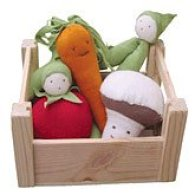 Non-Toxic Toys -Under The Nile Organic Veggie Crate
