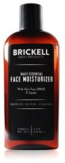 Non-Toxic Holiday Gift For Dad - Brickell Men's Daily Essential Face Moisturizer for Men