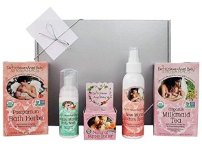 Non-Toxic Holiday Gift For Mom - Earth Mama New Mom Organic Gift Box