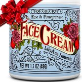 Non-Toxic Holiday Gift For Mom - LilyAna Naturals Face Creme Moisturizer Natural Anti Aging Skin Care