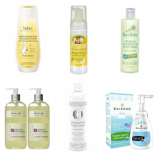 Organic Baby Shampoo And Body Wash