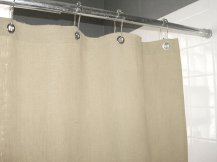 Non Toxic Shower Curtain - Bean Porducts Hemp Shower Curtain