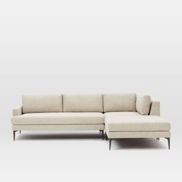 Sofa Without Flame Retardant West Elm Andes 3 Piece Chaise Sectional