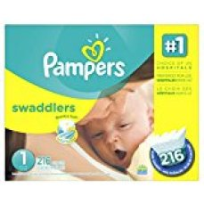 Pampers disposable diapers
