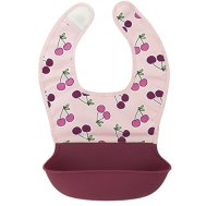 Non Toxic Feeding Bib - Kushies Baby Silisoft Bib With Silicone Pocket