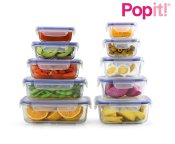 Non Toxic Kitchenware - Popit Glass Containers