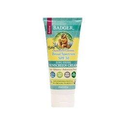 Non Toxic Baby Sunscreen - Badger Baby Sunscreen