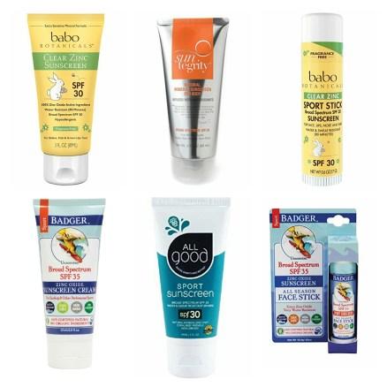 Non Toxic Sunscreens