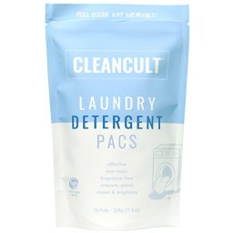 Natural Laundry Detergent - Cleancult Laundry Detergent Pacs