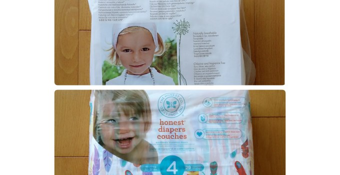 Non Toxic Naty VS Honest Company Diaper Review