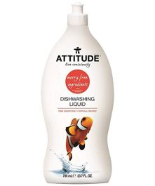 Non Toxic Dish Soap - Attitude Dishwashing Liquid