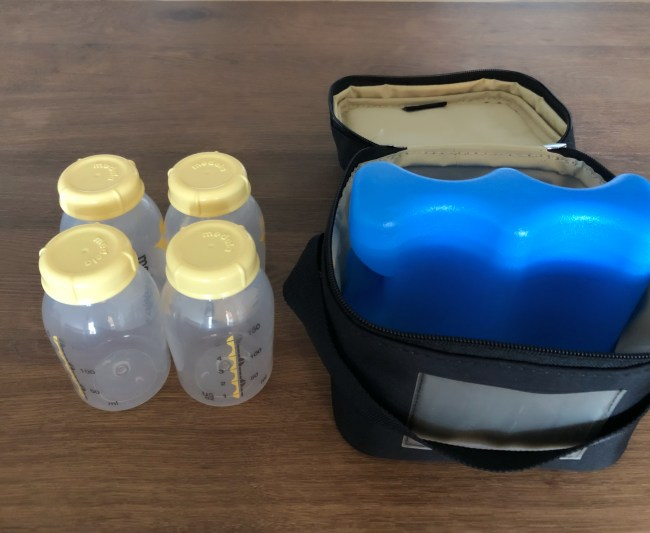 Medela Pump In Style Review - Cooler Bag and Ice Pack