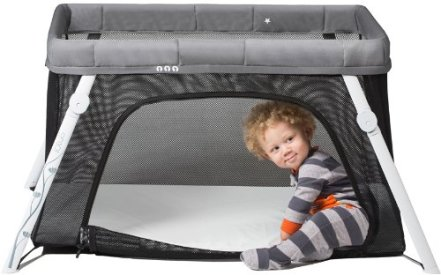 Non Toxic Play Yard - Lotus Travel Crib and Portable Baby Playard