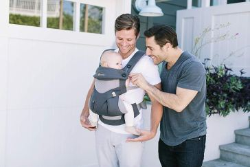 Organic Baby Carriers - Ergobaby 360 Ergonomic Baby Carrier