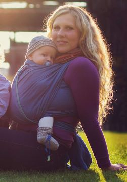 Organic Baby Carriers - Storchenwiege Woven Cotton Baby Carrier Wrap