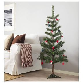 Non Toxic Christmas Trees - IKEA FEJKA Artificial Christmas Tree 4 ft 7 inches