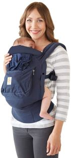 Organic Baby Carriers - Ergobaby Bundle Of Joy Carrier Navy