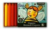 Non Toxic Art Supplies - Filana Organic Beeswax Stick Crayons