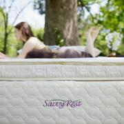 Non Toxic Mattress - Savvy Rest Natural Latex Mattress Unity Pllowtop
