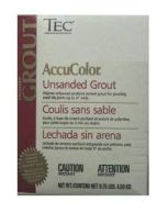 Non Toxic Grout - Tec AccuColor Premium Unsanded Grout
