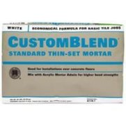 Non Toxic Thinset Mortar - Custom Building Products CBTSW50 50 Lb White Custom Blend Thin-Set Mortar