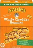 Healthy Snacks For Kids - Annie's Homegrown Organic Cheddar Bunnies Crackers