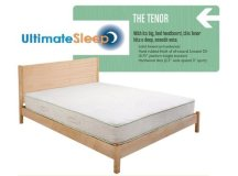 Solidwood Platform Bed - The Tenor Solid Wood Platform Bed