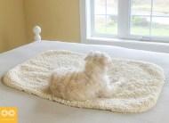 Non Toxic Rugs - Rawganique Savannah 100% Organic Cotton Deep-Pile Bathmat & Rug