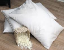 Organic Pillows - Organic Lifestyel Natural Shredded Rubber Latex Pillow