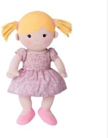 Non Toxic Gifts For Preschoolers - Apple Park Organic Best Friends Doll Ella