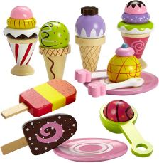 Non Toxic Gifts For Preschoolers - Dragon Drew Ice Cream Toy - Pretend Ice Cream Set - Ice Cream Set for Kids