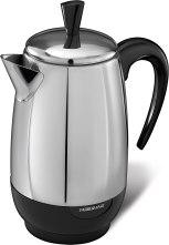 Non Toxic Coffee Maker - Farberware 8-Cup Stainless Steel Percolator