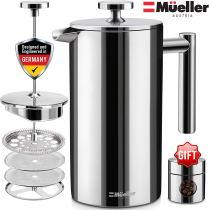 Non Toxic Coffee Maker - Mueller French Press