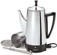 Non Toxic Coffee Maker - Presto Stainless Steel Coffee Maker
