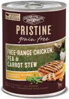 Organic Dog Food - Castor & Pollux Pristine Free-Range or Grass-Fed Protein Wet Dog Food