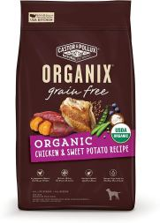 Organic Dog Food - Castor and Pollux Organix Organic Chicken and Sweet Potato Recipe Dry Dog Food