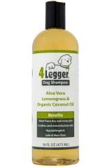 Organic Dog Shampoo - 4Legger USDA Certified Organic Dog Shampoo