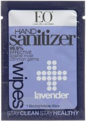 Organic Hand Sanitizer - EO Products Sanitizing Hand Wipes
