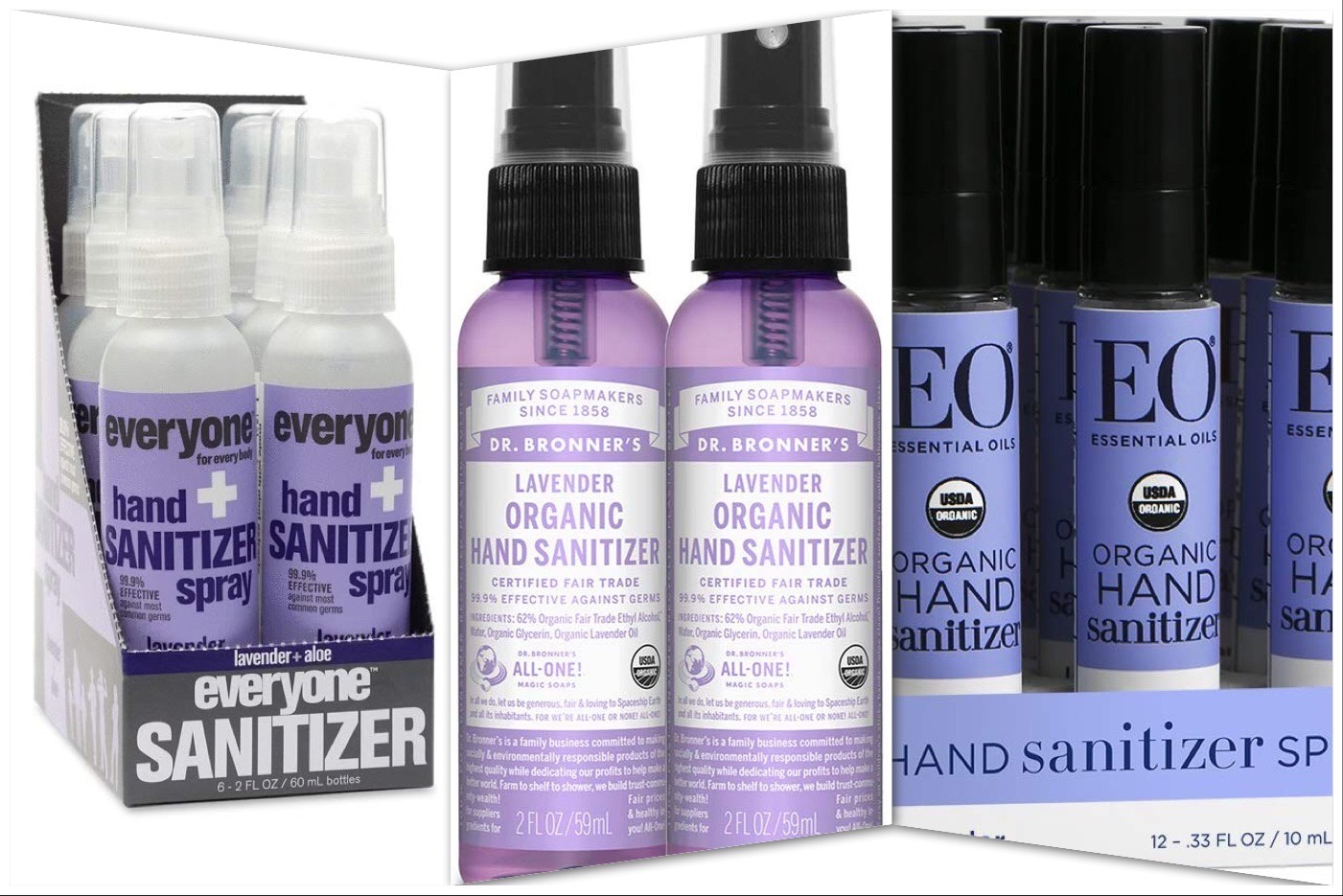 Organic Hand Sanitizer Effective Hand Sanitizer Without Harmful