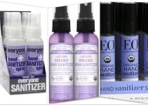 Safe Organic Hand Sanitizer