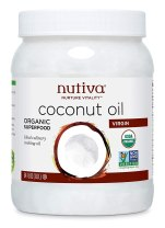 Healthy Cooking Oil - Nutiva Organic Cold-Pressed Virgin Coconut Oil