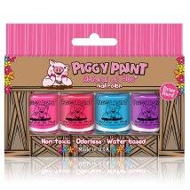 Non Toxic Kids Nail Polish-Piggy Paint Gift Set