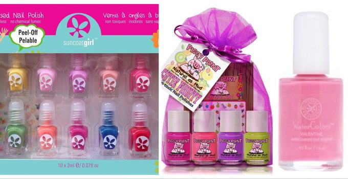 Safe Non Toxic Kids Nail Polish