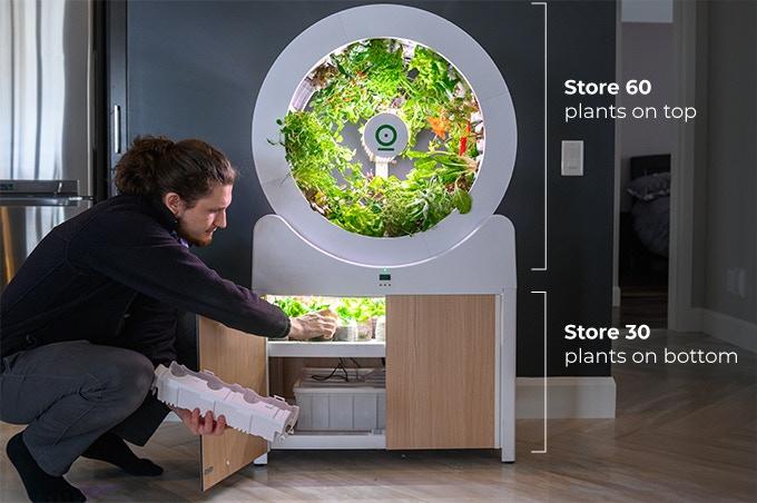 Indoor Garden - OGarden Smart For Growing Organic Vegetables