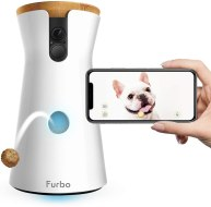 Non Toxic Dog Gifts - Furbo Dog Camera -Treat Tossing, Full HD Wifi Pet Camera and 2-Way Audio, Designed for Dogs, Compatible with Alexa