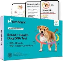 Genetic Testing - Embark Dog DNA Test Breed & Health Kit