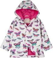 Non Toxic Rain Jacket For Kids - Hatley Girls' Printed Raincoats