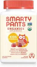 Kids Organic Multivitamin - Smarty Pants Daily Organic Gummy Kids Multivitamin