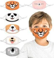 Organic Kids Face Masks - Cambria Baby 100% Organic Cotton Kids Washable, Reusable Face Masks